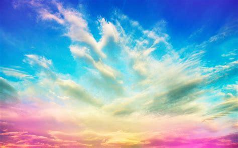 colorful clouds colorful cloud wallpaper www pixshark images