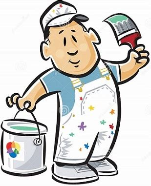 house painter clipart free painter clipart