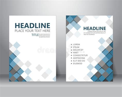 Brochure Flyer Design Template Vector Stock Vector Image 71651220 Graphic Design Poster Templates