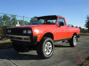 1983 Mitsubishi Mighty Max 1983 Dodge D50 Royal Turbo Diesel Intercooler 4wd 5 Speed