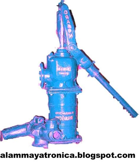 Pompa Pertamini Manual Pompa alambengkeltronica mesin pompa air dan pompa manual