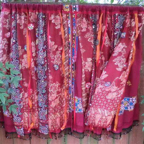 bohemian drapes silk road handmade gypsy bohemian curtains