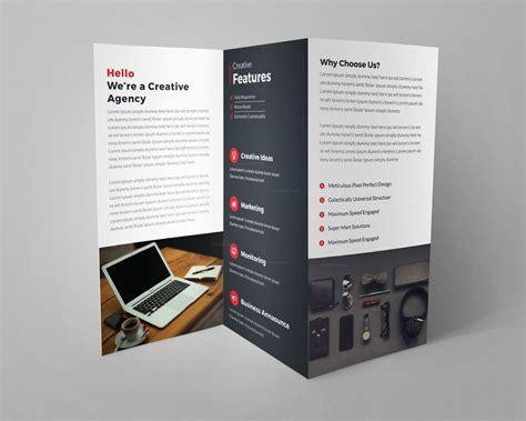 creative tri fold brochure design templates