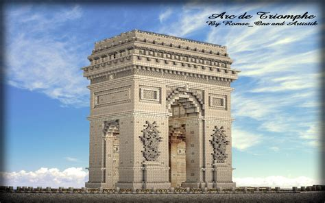 New Home Blueprints arc de triomphe paris 1 1 minecraft project