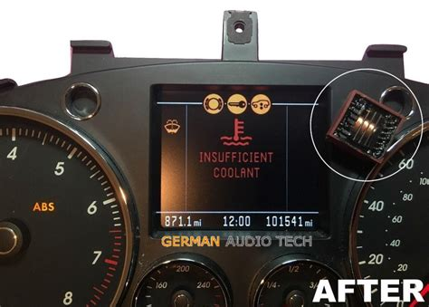 repair service  porsche cayenne touareg instrument speedometer clus german audio tech