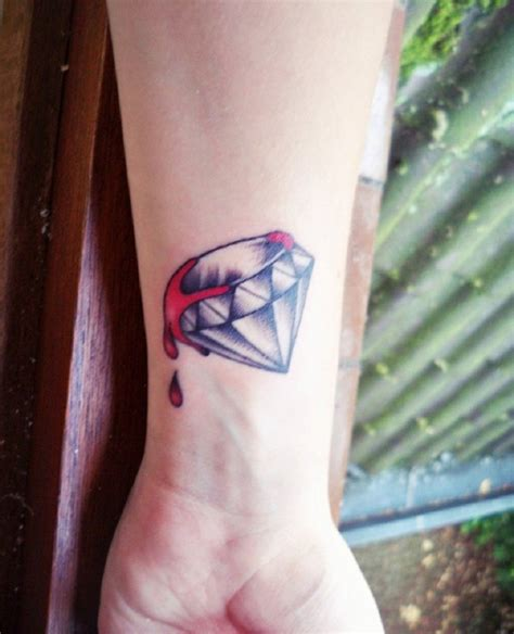 diamond tattoos designs ideas and meaning tattoos for you