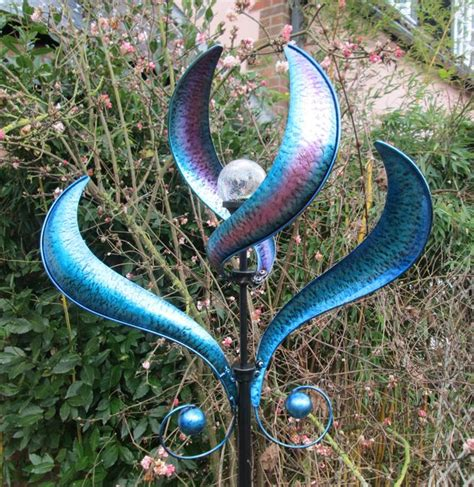 Wind Spinners For Garden by Wind Spinners Add Motion To Your Garden Site For