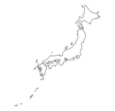 labeled outline map rivers homeschool geography blank outline map of japan schools at look4
