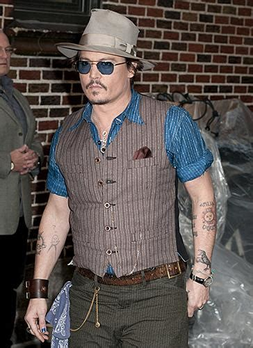 johnny depp s tattoos tattoo collections
