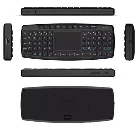 Paket Keren Mini Pc Dan Keyboard Mouse Touch Pad keyboard wireless mini dengan touch pad kb168 black jakartanotebook