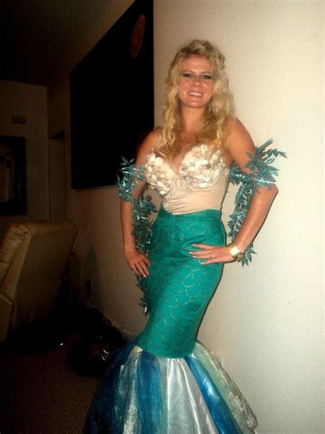 Handmade Mermaid Costume - diy mermaid costume for buy bra with