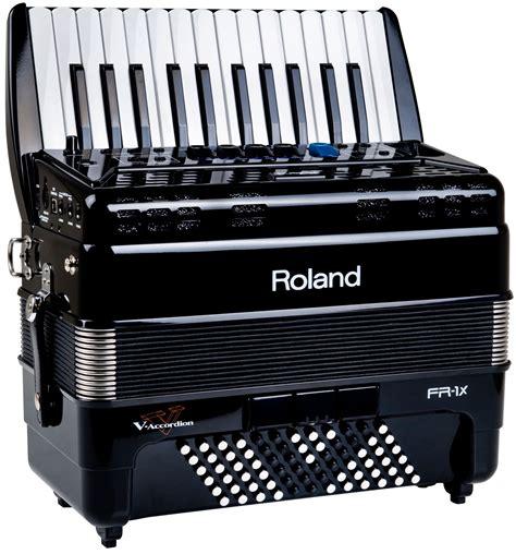 roland fr  accordion black keymusic