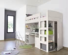 White Desks For Sale Nz White Wooden Loft Bed With Desk Underneath Plus Built In