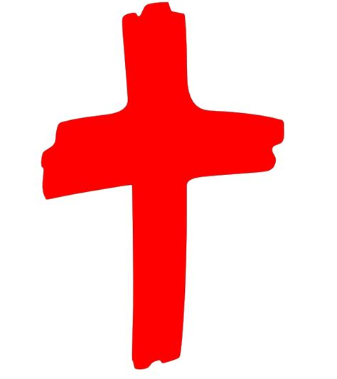 black and red christian cross red cross clip art at clker com vector clip art online