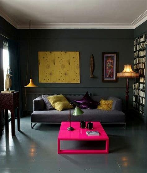 Wand Kronleuchter Schwarz by Schwarze Innenw 228 Nde In Ihrer Wohnung 30 Originelle