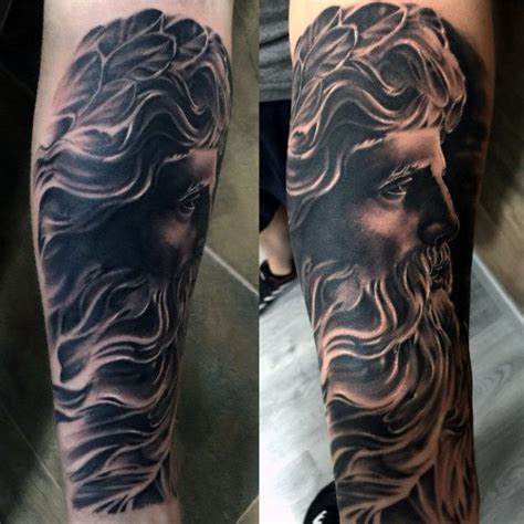 zeus tattoos cool gods zeus on tatto