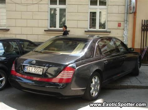 Mercedes Maybach Spotted In Cracow Poland On 06 21 2008