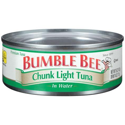 bumble bee chunk light tuna bumble bee tuna and seafood products bumble bee 174 chunk