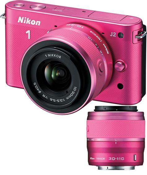 nikon 1 mirrorless j2 digital with 10 30mm vr zoom lens pink
