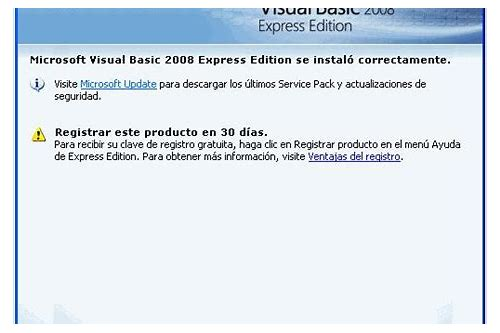 descargar visual basic.net 2008 gratis