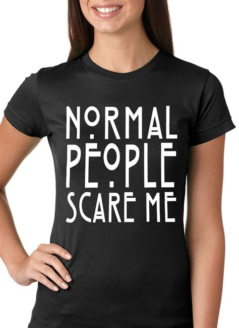 t shirts for humans normal scare me t shirt