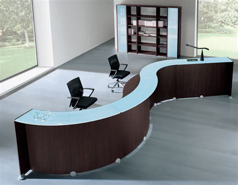modern reception desks impressions are lasting - Modern Office Furniture Reception Desk