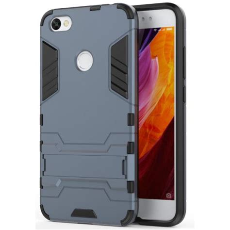 Ironman Casing Hardcase ironman armor hardcase for xiaomi redmi note 5a gray