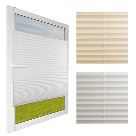 Sichtschutz Fenster Faltrollo by Klemmfix Plissee F 252 R Fenster Faltrollo Rollo Sichtschutz