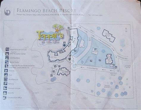 flamingo resort map pool picture of flamingo resort philipsburg