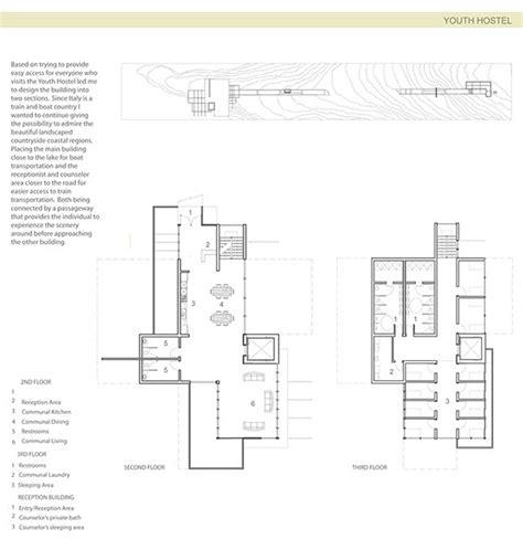 Youth Hostel Italy On Sva Portfolios Architectural Plans Of Hostels