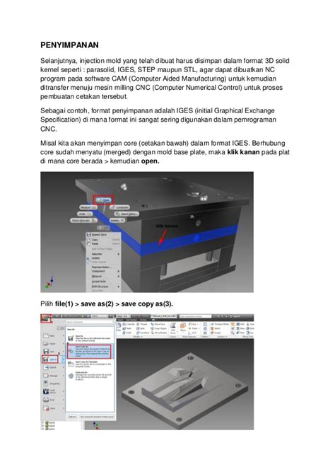 Format Iges Adalah | injection mold design by zul fauzi