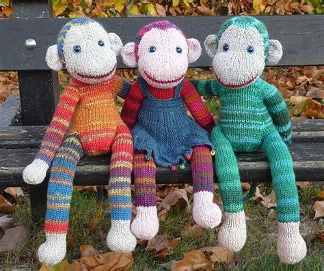 monkey knitting monkey jacobus pattern by annita wilschut