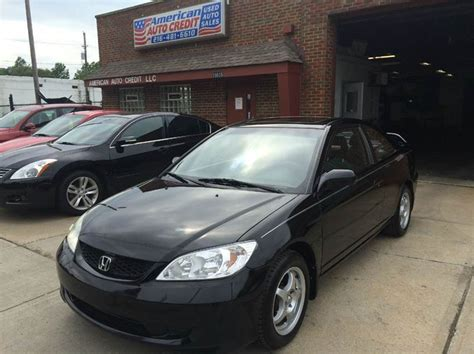 2004 honda civic ex 2dr coupe in cleveland oh american