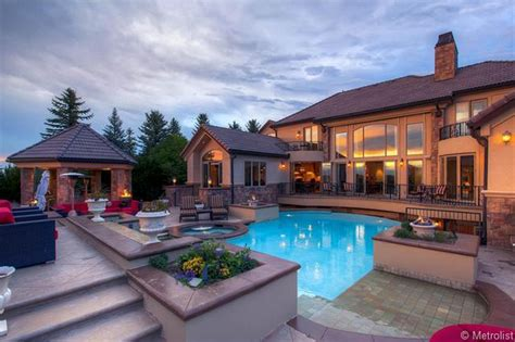 10 000 square foot mansion in castle rock co homes of
