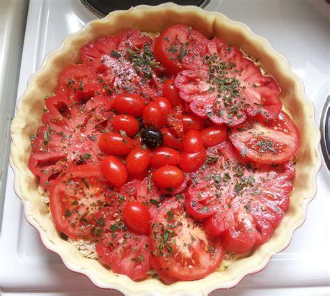 cuisiner le coeur de boeuf tarte au thon et aux trois tomates bien dans ma cuisine