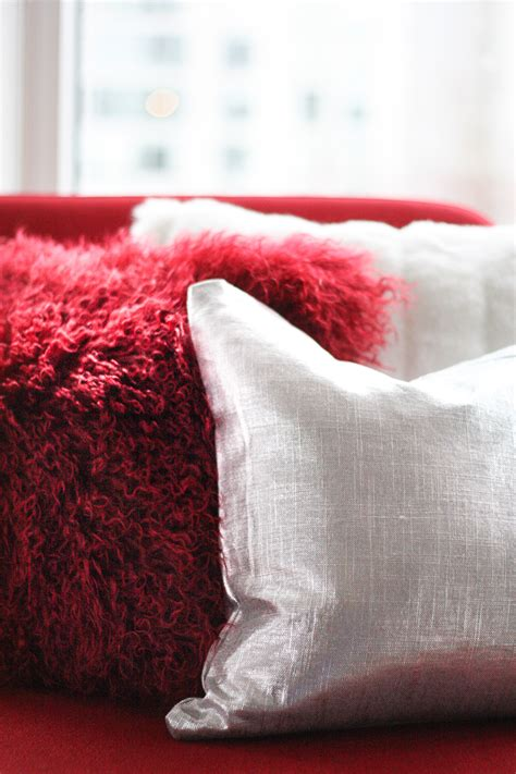 Why Do We Like Cold Pillows by Warm Fluffy Fur Pillows For Winter Oh Decor