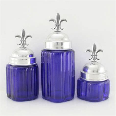 fleur de lis canister 5 5 quot small kitchen canisters nature home decor 1000 images about kitchen and bath on pinterest metals