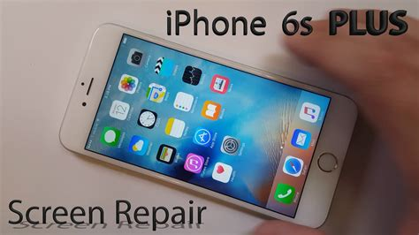 iphone fix iphone 6s plus screen repair shown in 4 minutes fix
