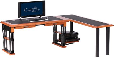 modern l shape desk modern computer desk 2 l shaped right caretta
