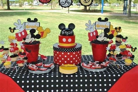 Mickey Mouse Birthday Decoration Ideas by 1000 Images About Mickey Minnie Mouse On