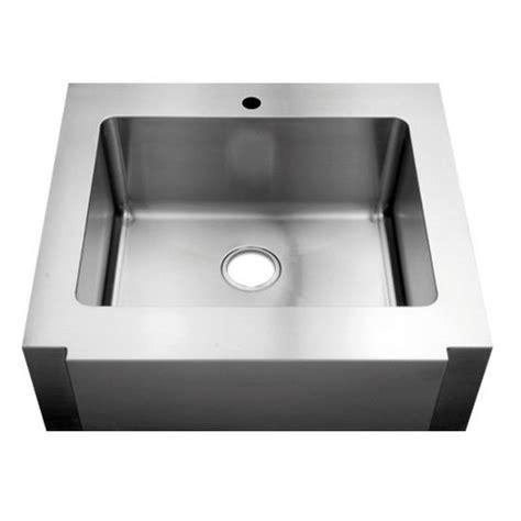 Julien Kitchen Sinks Julien Classic 0120 Farmhouse 16 Stainless Steel Single Bowl Kitchen Sink 24 X18 Quot X10