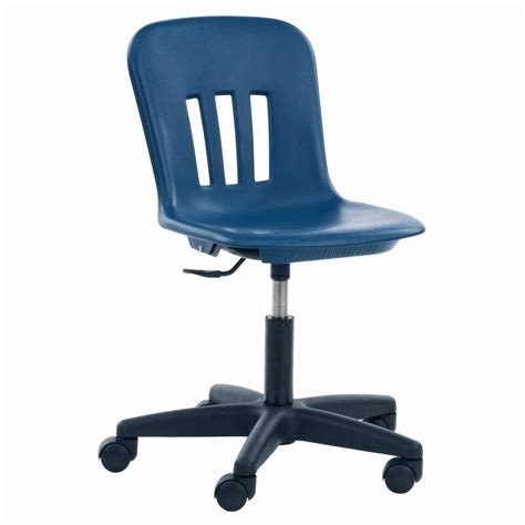 blue swivel desk chair for decofurnish