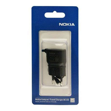 Charger Nokia Ac 15e Lubang Kecil travel charger nokia original megatel