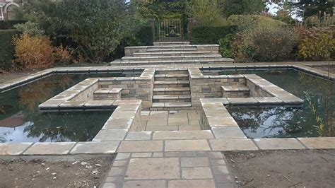 how to construct a formal pond and water garden by pete sims garden design landscape garden