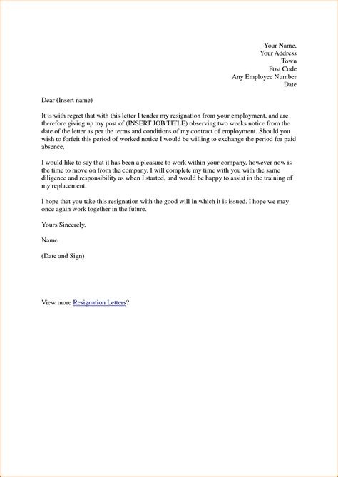 formal notice letter formal letter template