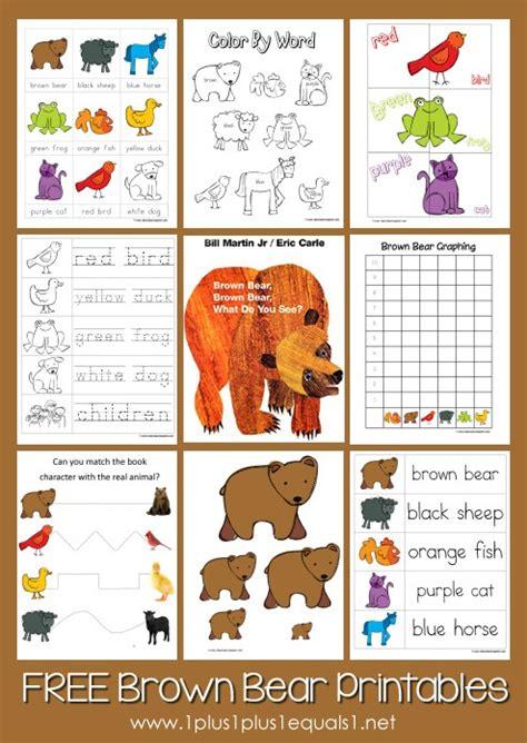 printable animal stories brown bear brown bear printables updated 1 1 1 1
