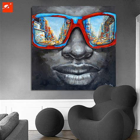 african american art great big canvas new style for 2016 2017 new cool style street wall art abstract modern black
