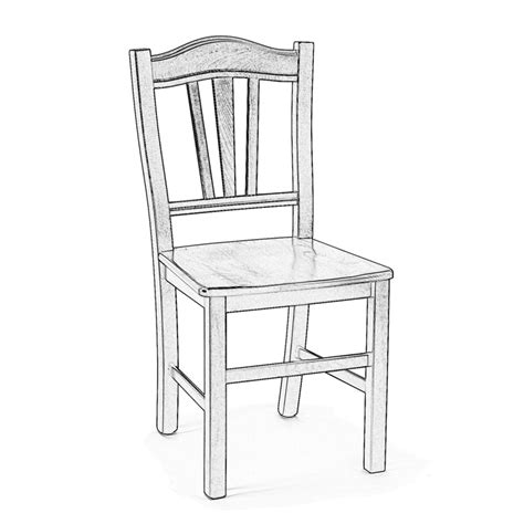 sedie in legno grezzo sedia in legno grezzo da verniciare silvana arredas 236