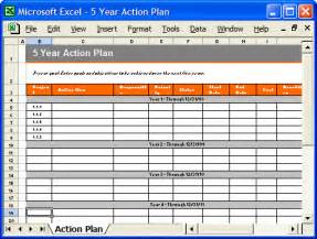 Free 5 Year Business Plan Template by 5 Year Plan Template Flickr Photo