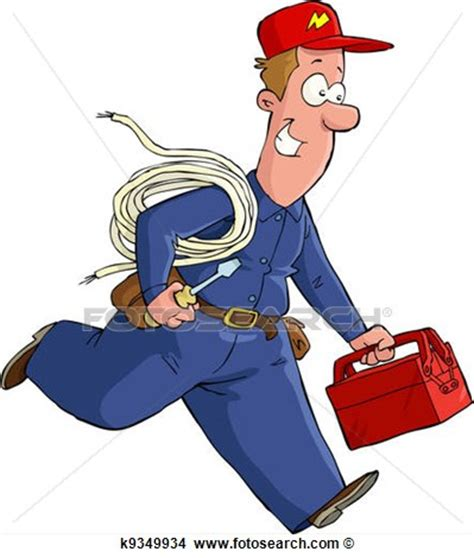 fotosearch clipart electrician clipart clipart suggest